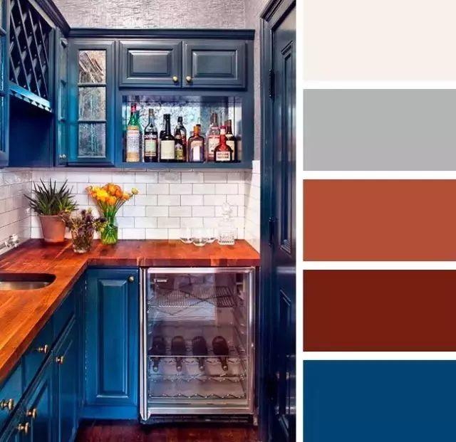 你家厨房配色太保守了,看看别人家的!