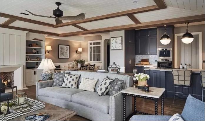 150㎡现代美式风格   打造优雅质感家居生活!