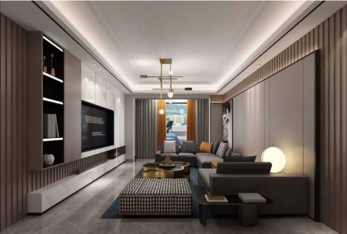 四室两厅现代轻奢风案例   彰显高级